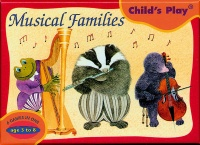 Cover image for Musical Families