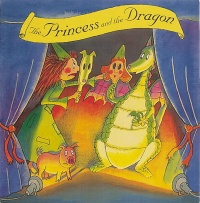 Cover image for The Princess and the Dragon Mask Book