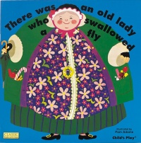Cover image for Old Lady Who Swallowed a Fly