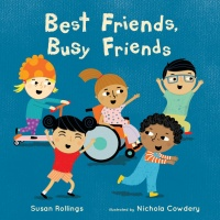 Cover image for Best Friends, Busy Friends