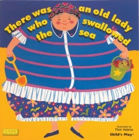 Cover image for Old Lady Who Swallowed the Sea