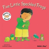 Cover image for Five Little Speckled Frogs