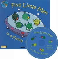 Cover image for Five Little Men in a Flying Saucer