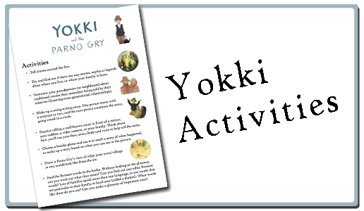 Yokki and the parno gry Activities