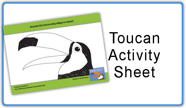 Click here to download a Toucan colouring activity sheet