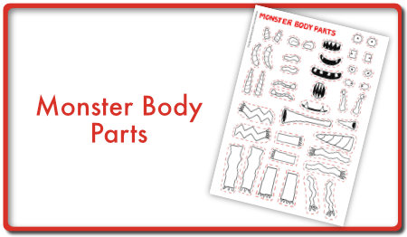 Monster Body Parts