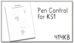 Click here to download the Pen Control worksheet
